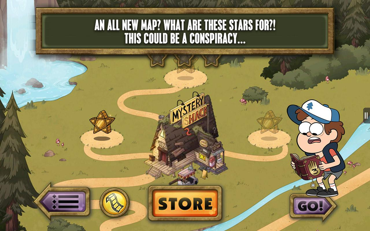 Gravity Falls Mystery Attack - screenshot