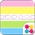 Colorful Theme-Twirly Heart- icon