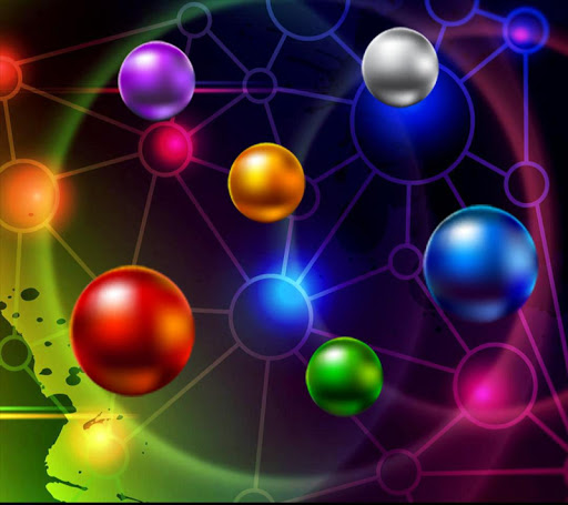 Colorful Ball Live Wallpaper