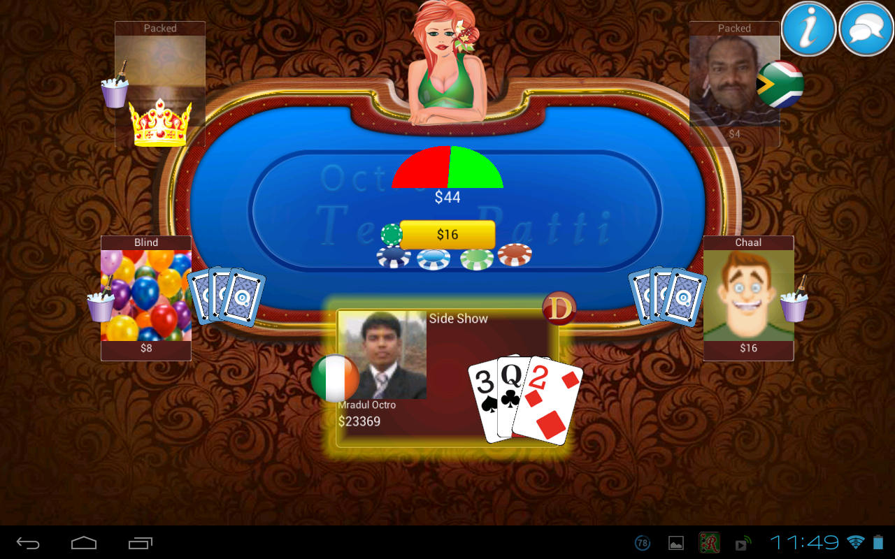 free poker flash game