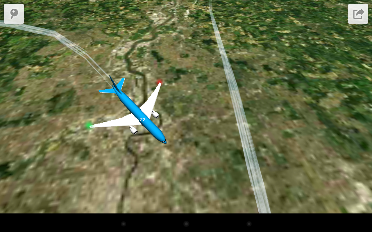 Plane Finder 3D - screenshot
