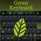 Green Keyboard App Theme