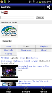 Seattle Wave Radio- screenshot thumbnail