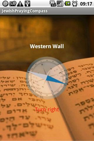 Jewish Praying Direction - screenshot