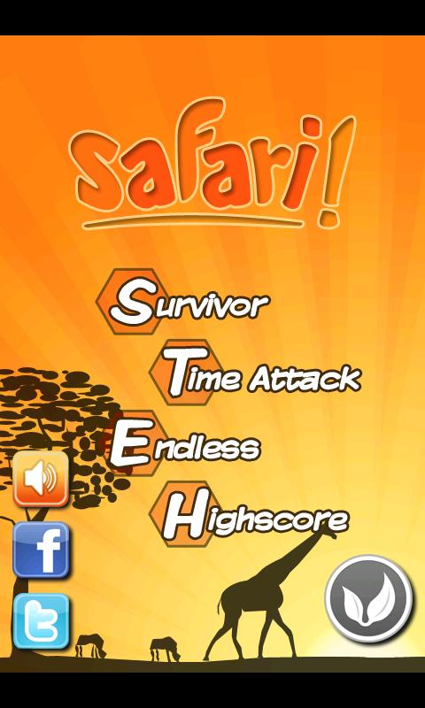 Safari!- screenshot