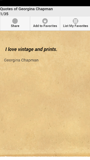 Quotes of Georgina Chapman