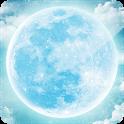3D Moon icon