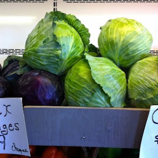Sauteed Cabbage & Leeks with Apples