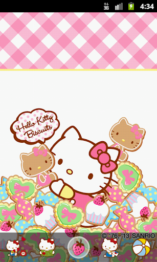 Hello Kitty Biscuits Theme