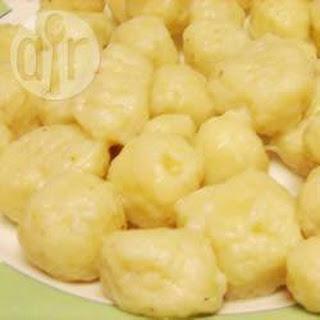 Home Made Potato Gnocchi.