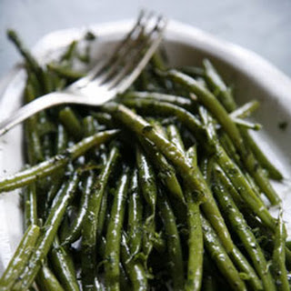 Herbed Haricots Verts