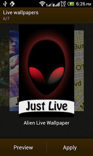 Alien Live Wallpapers HD
