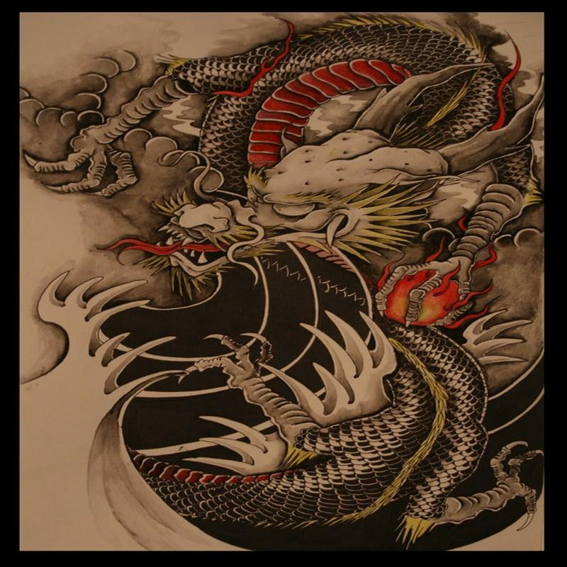 tattoo design dragon android apps on google play. Black Bedroom Furniture Sets. Home Design Ideas