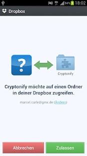 Cryptonify Internet Extension - náhled