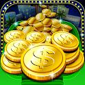 Ace Coin Dozer Lucky Vegas Pro icon