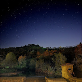 s. ruffillo by Melchiorre Pizzitola - Landscapes Starscapes ( landscape / star / night /water /,  )