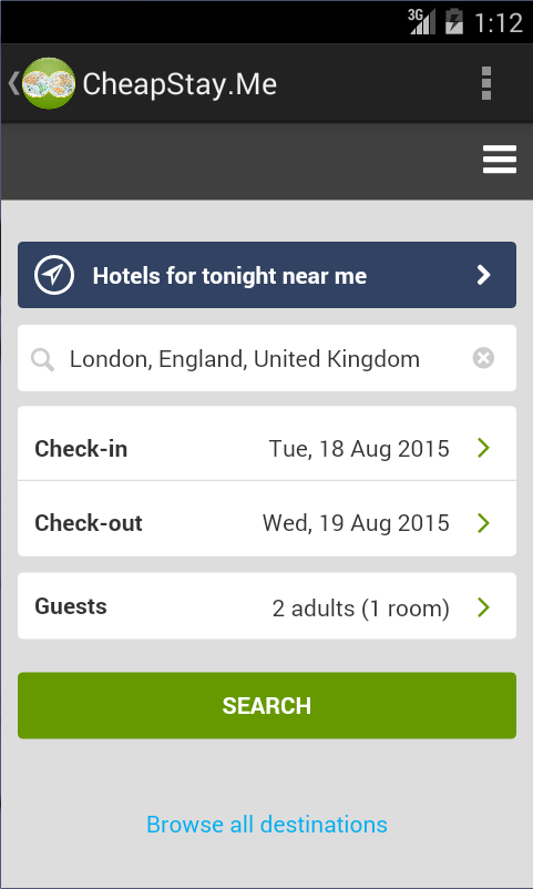 CSM: Cheap Hotel Bargains - screenshot
