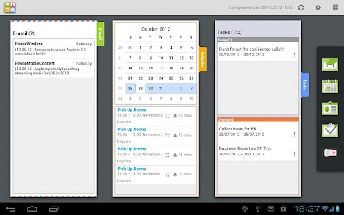Moxier Mail for Tablet - Trial - screenshot thumbnail