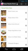 Screenshot of Resepi Masakan Bonda