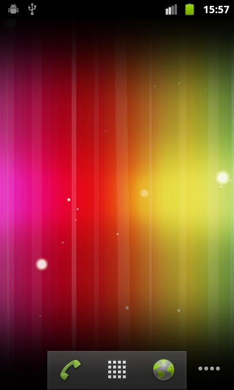 Spectrum ICS Live Wallpaper - screenshot