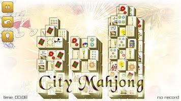Screenshot of New Years Mahjong