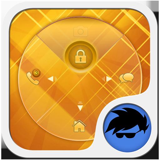 ゴールドロック画面 個人化 LOGO-玩APPs