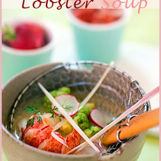 Asian-Style Lobster Soup.