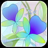 Download Hand Draw Flower Screen Lock APK on PC