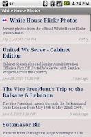 Screenshot of Whitehouse.gov