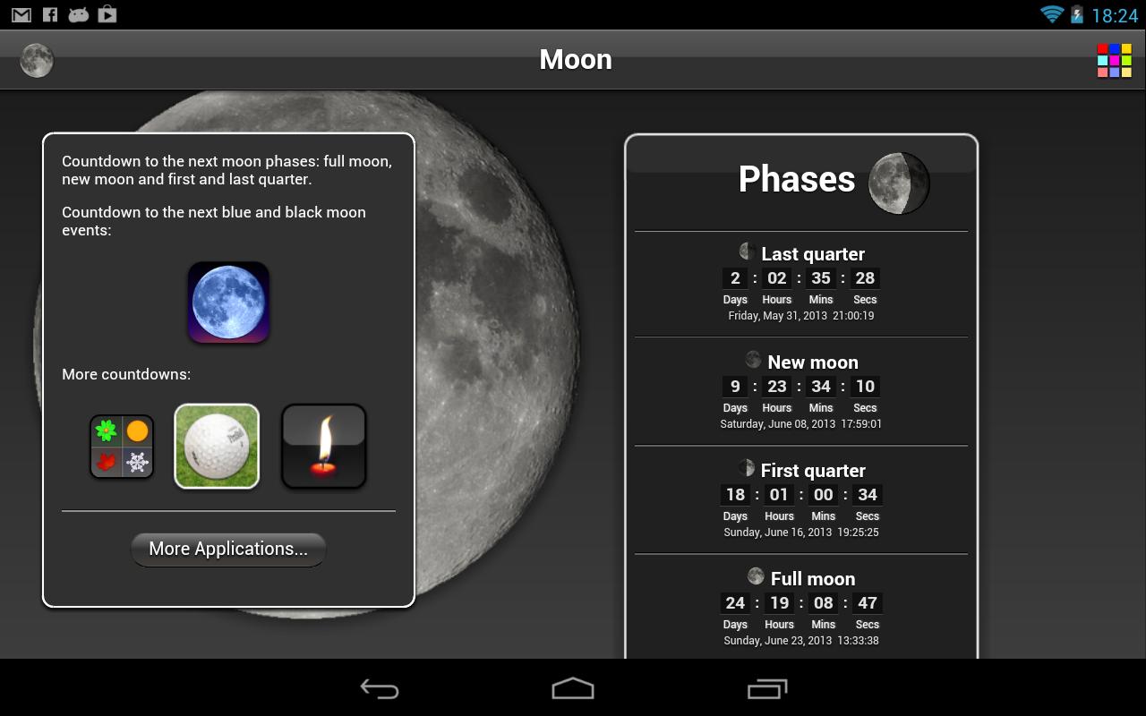 Deer Hunting Moon Phase Calendar