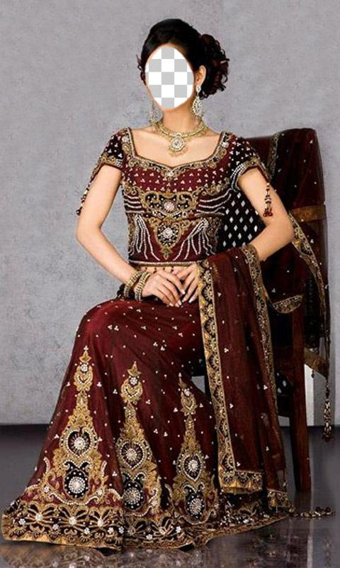Indian wedding dresses android apps on google play for Design your wedding dress app