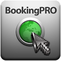 BookingPro, hotel finder. logo