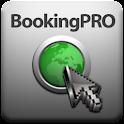 BookingPro, hotel finder. logo