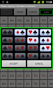Poker Equity Calculator Pro- screenshot thumbnail