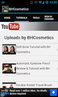Screenshot of Makeup by BH! Tutorials