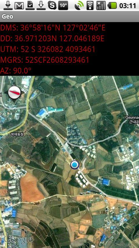 GeoLocation - screenshot