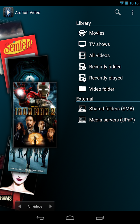 Archos Video Player Free - screenshot