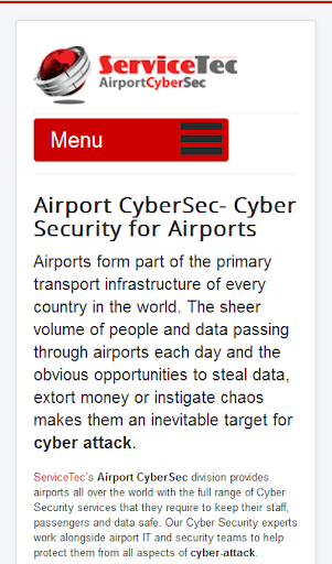 Airport Cyber Security