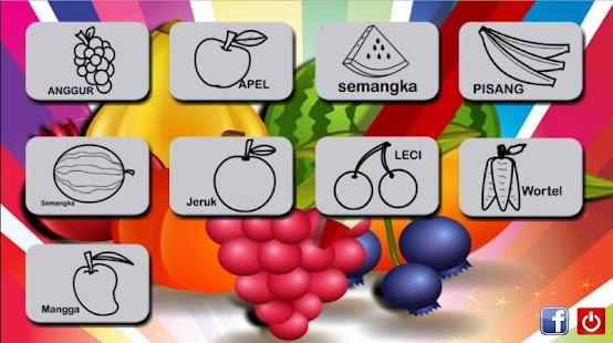 Mewarnai Gambar Buah Dan Sayur Apprecs