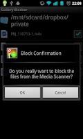 Screenshot of Gallery Blocker