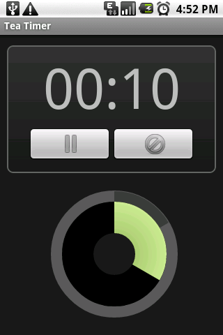 Tea Timer - screenshot