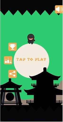 Ninja Spike Jump - Bouncy Game