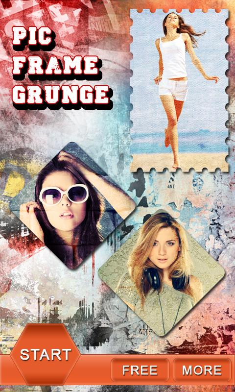 Pic Frames Grunge - screenshot