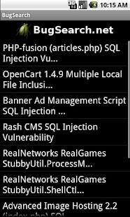 BugSearch FREE- screenshot thumbnail