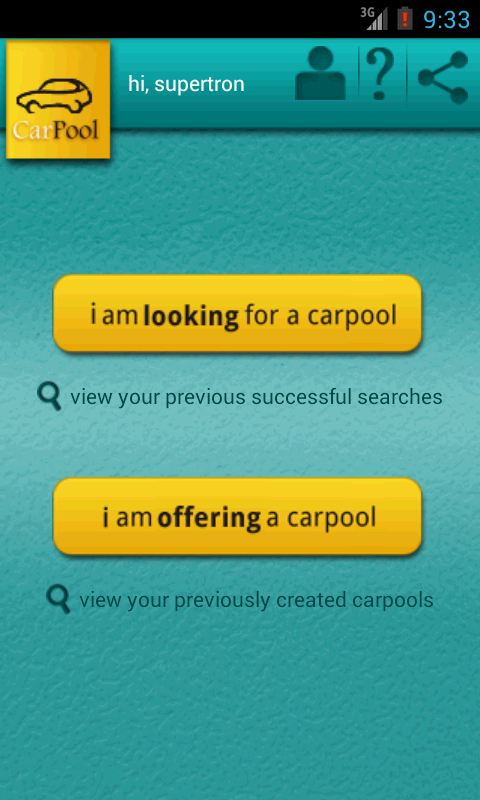 Car Pool- screenshot