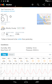 Weather Underground Screenshot 29