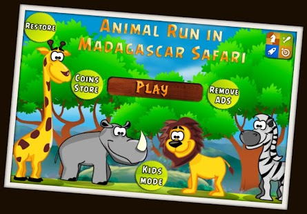 Madagascar Animal Kids Games 3