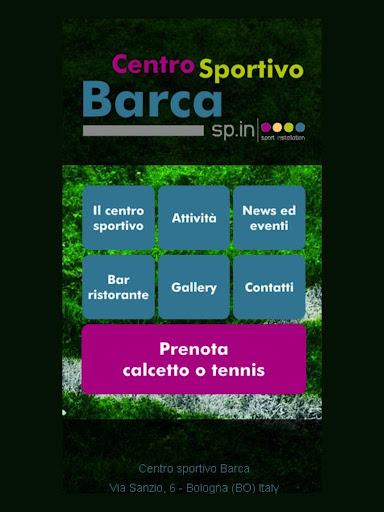 Centro sportivo Barca