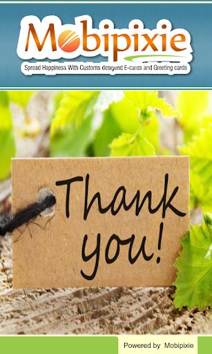 Free Thank You Ecard Greetings