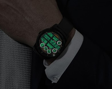 F05 WatchFace for Android Wear- screenshot thumbnail